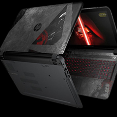 Llega la laptop de Star Wars