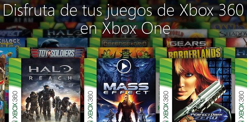 Disfruta de tus juegos Xbox 360 en Xbox One