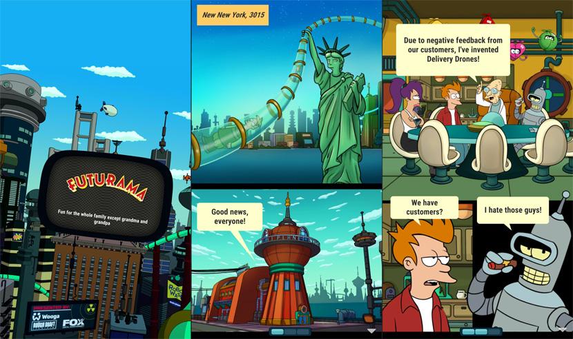 El nuevo juego oficial de Futurama para Android
