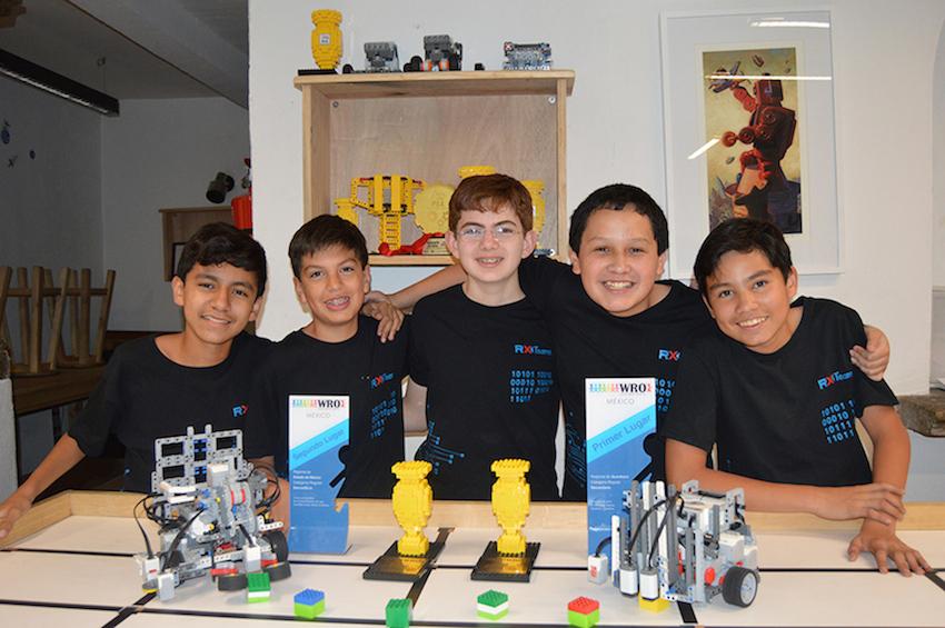 ninos mexicanos entre los mejores en Olimpiada Mundial de Robotica