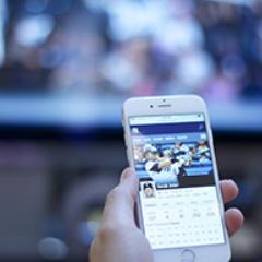 ver television y redes sociales