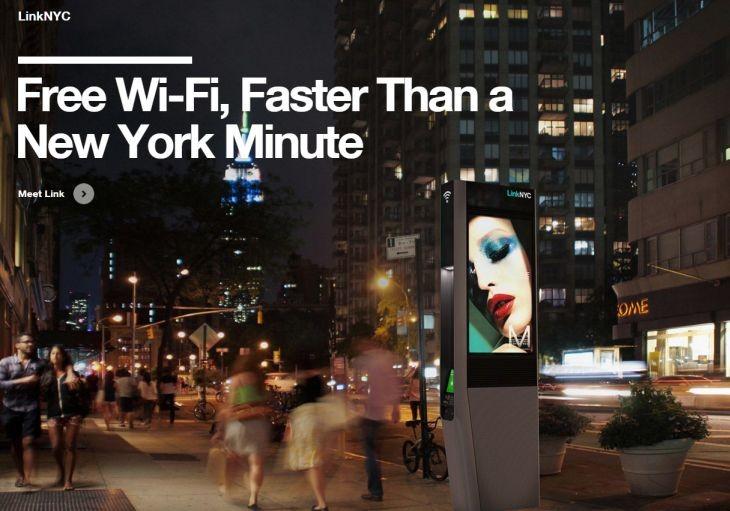 En Nueva York sustituyen cabinas telefonicas por estaciones WiFi