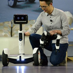 robot segway e intel