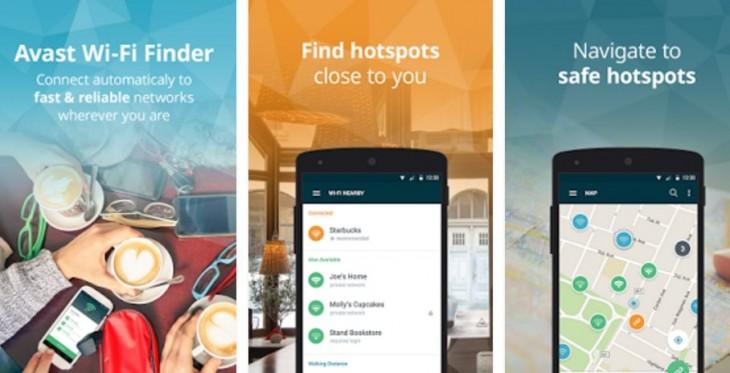 Avast presenta la solucion movil para encontrar puntos WiFi seguras