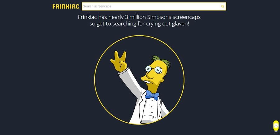 El buscador con mas de 3 millones de capturas de los Simpsons
