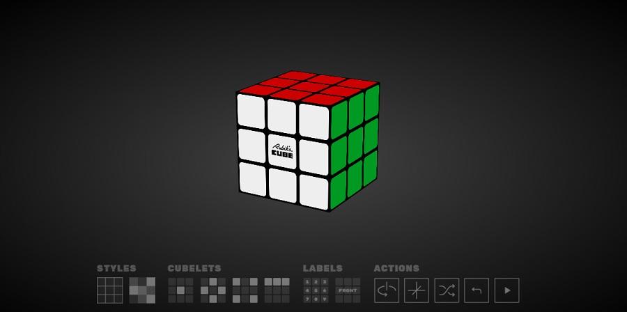 Google crea un simulador del Cubo de Rubik