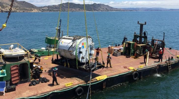 Microsoft en fase de pruebas de su primer Centro de Datos submarino