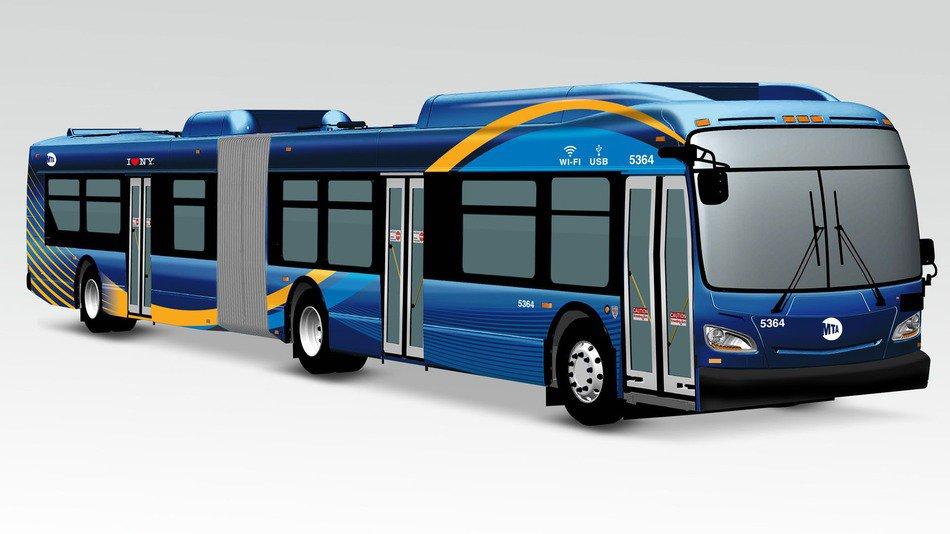 Buses con WiFi y puertos USB para carga en Nueva York