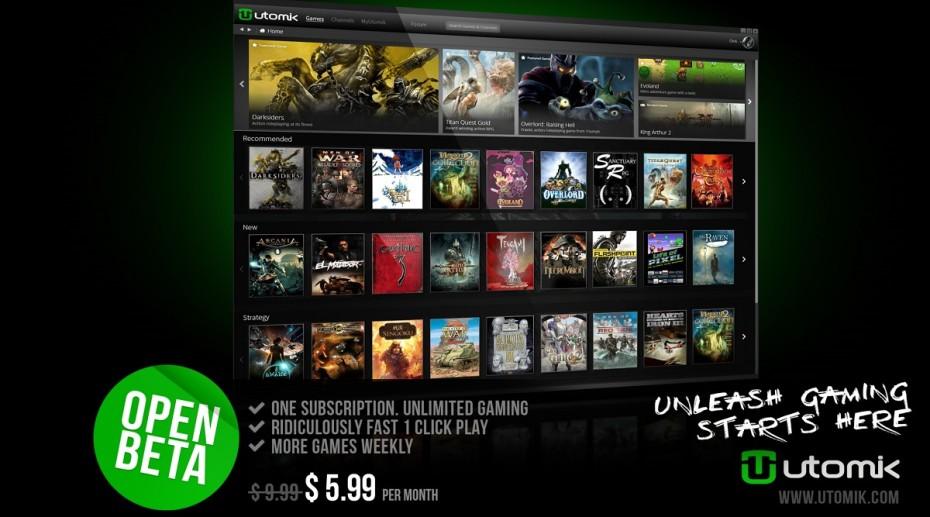 Llega Utomik el Netflix de los videojuegos