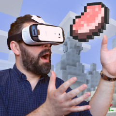 Minecraft ya cuenta con version para Realidad Virtual