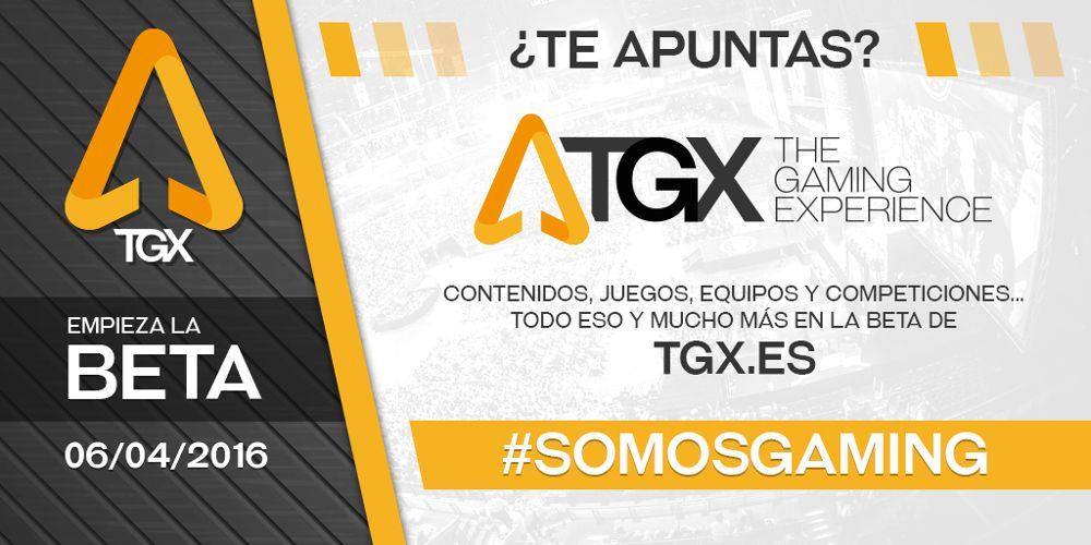 TGX la nueva plataforma web para participar en torneos de juegos